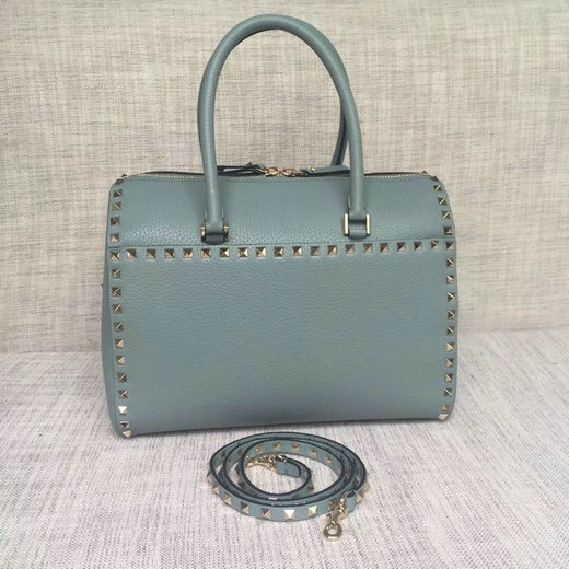 2017 F/W Valentino Garavani Rockstud Duffel Bag in grain leather