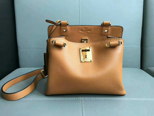 2017 Fall/Winter Valentino Garavani Joylock Small Handbag in Tan