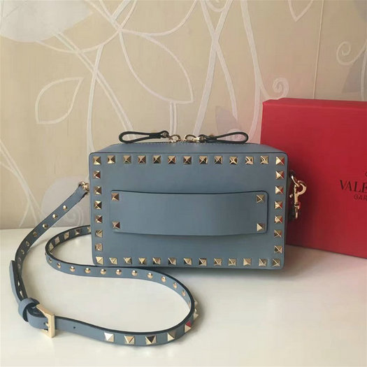 2017 S/S Valentino Small Guitar Rockstud Rolling Crossbody Bag