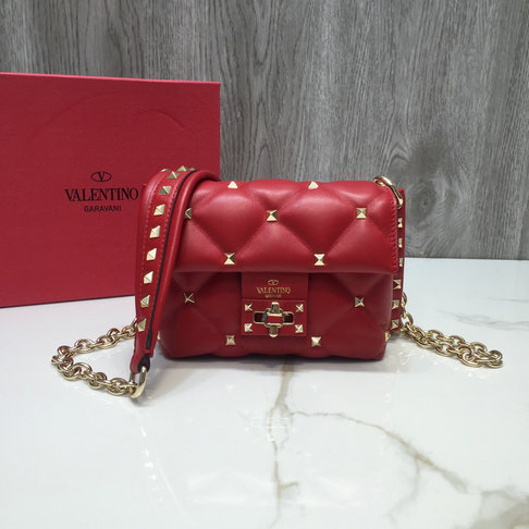 2018 F/W Valentino Candystud Mini Shoulder Bag in Lambskin Leather