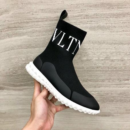 0b2d338c3e8 2019 Valentino VLTN Sock Sneaker in Black  SH0327  -  138.27 ...