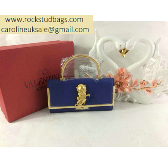 Valentino Monkey Scarab bag blue