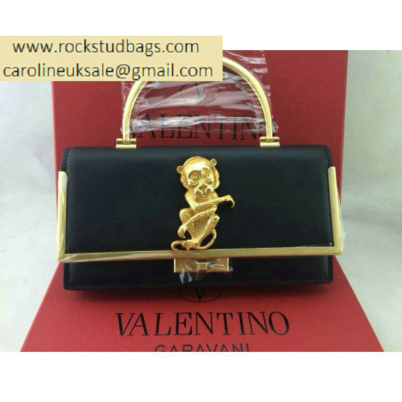 Valentino Monkey Scarab bag in black
