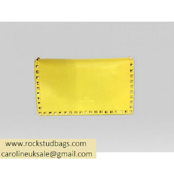 Valentino Clutch wallet EWB00399-ANG301 Y19 yellow bright