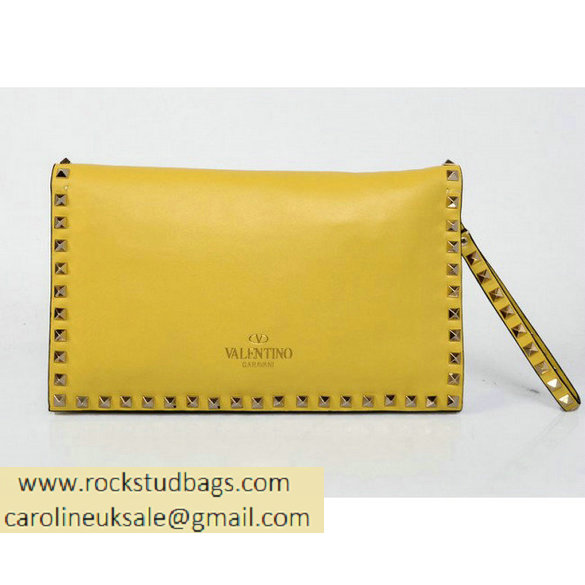 Valentino Clutch wallet EWB00399-ANG301 Y19 yellow