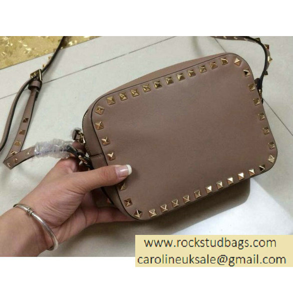 Valentino Rockstud Crossbody Bag Camel Larger Image
