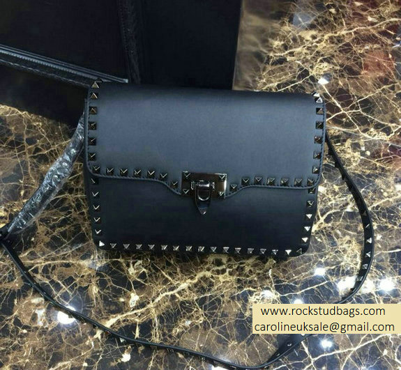 Valentino black Rockstud Crossbody Bag