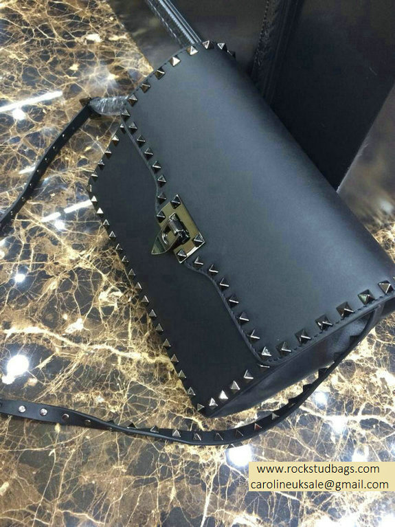 Valentino black Rockstud Crossbody Bag - Click Image to Close