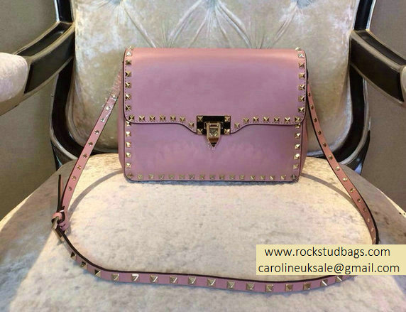 Valentino Pink mini Rockstud Crossbody Bag