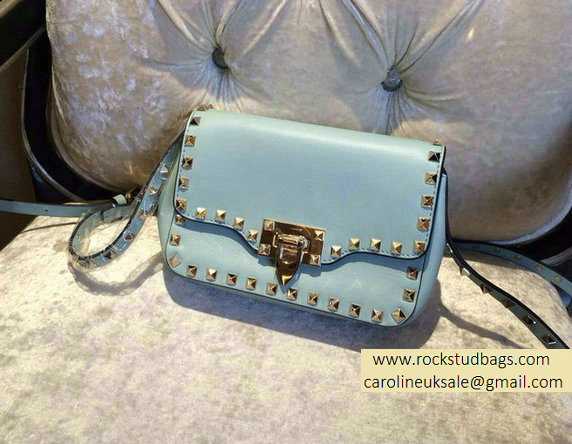 Valentino Baby Blue mini Rockstud Crossbody Bag