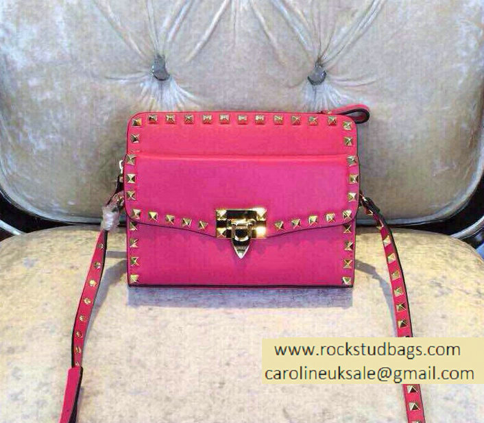 Valentino Two Part Shoulder Bag Rosy 2015