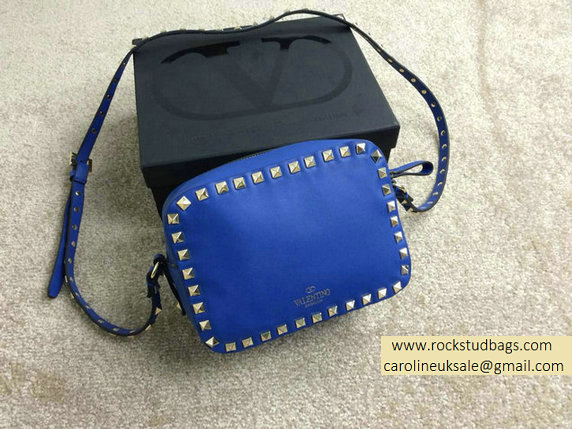 Valentino Rockstud Crossbody Bag in Blue