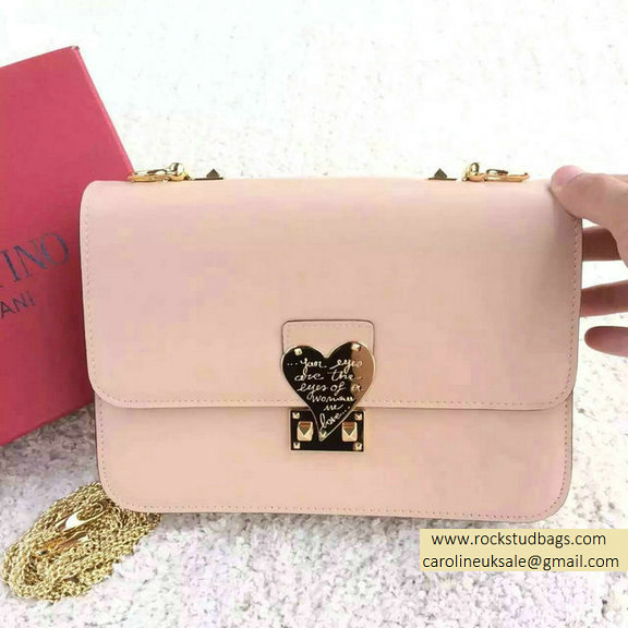 "Valentino Garavani ""L'AMOUR"" Shoulder Bag in Light Pink 2015"
