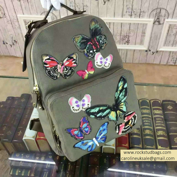 Valentino Camu Butterfly Large Backpack 2015