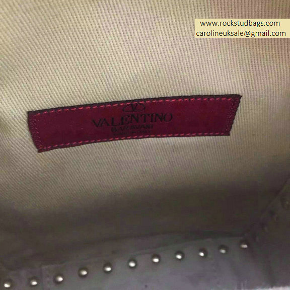 2015 Valentino Paon Palm Calfskin Rockstud Small Backpack