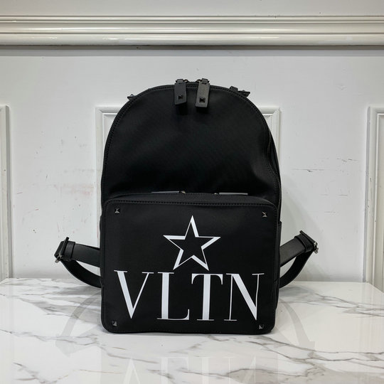 2019 Valentino VLTNSTAR Nylon Backpack in Black